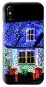 Christmas Lighthouse IPhone Case