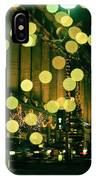 Christmas Lights In Oxford Streeet IPhone Case