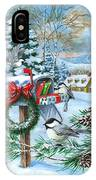 Christmas Mail IPhone Case