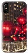 Christmas On 5th Avenue Manhattan 1 IPhone Case