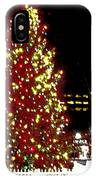 Christmas On Public Square Three IPhone Case