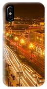 Christmas On The Plaza IPhone Case