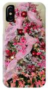Christmas Pink IPhone Case