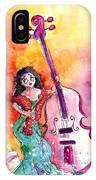 Christmas Sea Bass IPhone Case