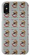 Christmas Seals 1981 IPhone Case