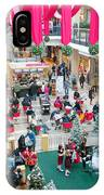 Christmas Shopping IPhone Case