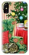 Christmas Tea IPhone Case