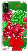 Christmas Three IPhone Case