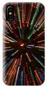 Christmas Tree At Warp Speed II IPhone Case