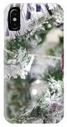 Christmas Tree Baubles IPhone Case