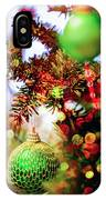 Christmas Tree Ornaments And Decorations IPhone Case