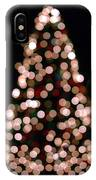 Christmas Tree Out Of Focus IPhone Case