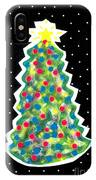 Christmas Tree Polkadots IPhone Case