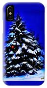 Christmas Tree With Red Ball IPhone Case