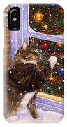 Christmas Visitor IPhone Case