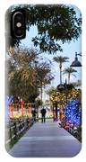 Christmas Walk IPhone Case