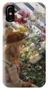 Chrysanthemums, 1890 IPhone Case
