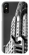 Chrysler Building Nyc 1 IPhone X Case