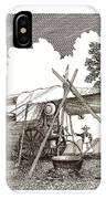 Chuckwagon Cattle Drive Breakfast IPhone Case