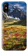 Chugach Autumn IPhone Case