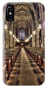 Church Aisle IPhone Case