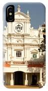 Church At Colva IPhone Case