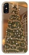 Church Christmas Tree IPhone Case