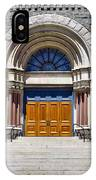 Church Doors IPhone Case