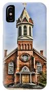 Church In Sprague Washington 2 IPhone Case