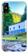 Church In The Mountains By The River IPhone Case