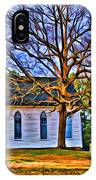 Church In The Wildwood - Paint IPhone Case