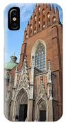 Church Of The Holy Trinity In Krakow IPhone Case