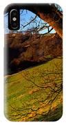 Church On A Landscape, Rievaulx Abbey IPhone Case
