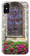 Church Window In Brittany IPhone Case