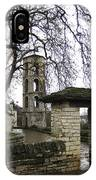Churchyard Doorway In Papingo IPhone Case