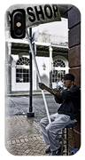 Cigar Shop On Bourbon Street New Orleans IPhone Case