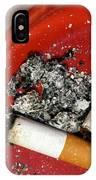 Cigarette Butts IPhone Case