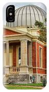 Cincinnati Observatory 0053 IPhone Case