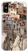 Cinque Terre Mediterranean Coastline IPhone Case