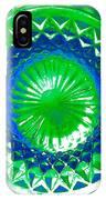 Circle Green IPhone Case