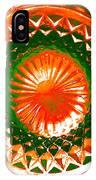 Circle Orange IPhone Case