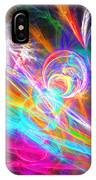 Circles Of Colours IPhone Case