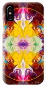 Circling The Unknown Abstract Healing Artwork By Omaste Witkowsk IPhone Case