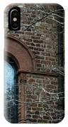 Circular Church Window IPhone Case