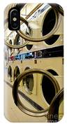 Circular Doors On Laundromat Washing Machines IPhone Case