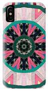 Circular Patchwork Art IPhone Case