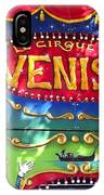 Circus Centerpiece IPhone Case