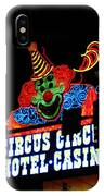 Circus Circus Sign Vegas IPhone Case
