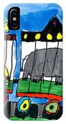 Circus Train IPhone Case