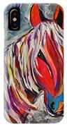 Cisco Abstract Horse  IPhone Case